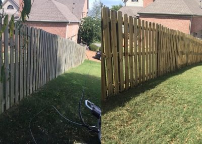 Fence Pressure Washing