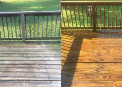 Deck Power Washing