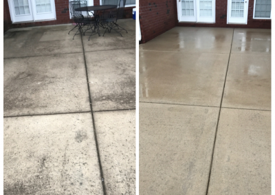 Patio Surface Cleaning